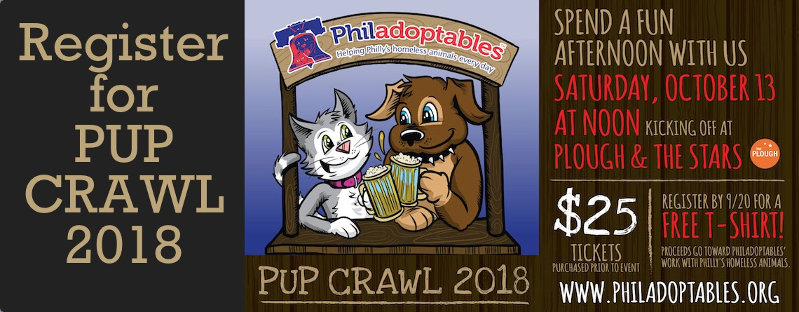 Register for PUP CRAWL 2018