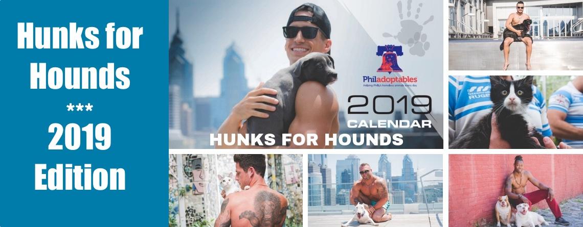 Hunks for Hounds 2019 Calendars