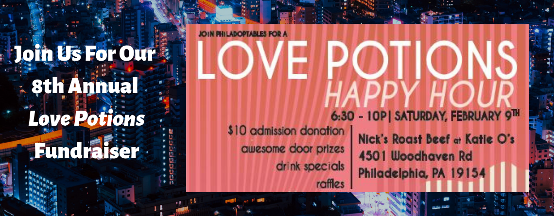 Join Us For Our 8th Annual Love Potions Fundraiser
