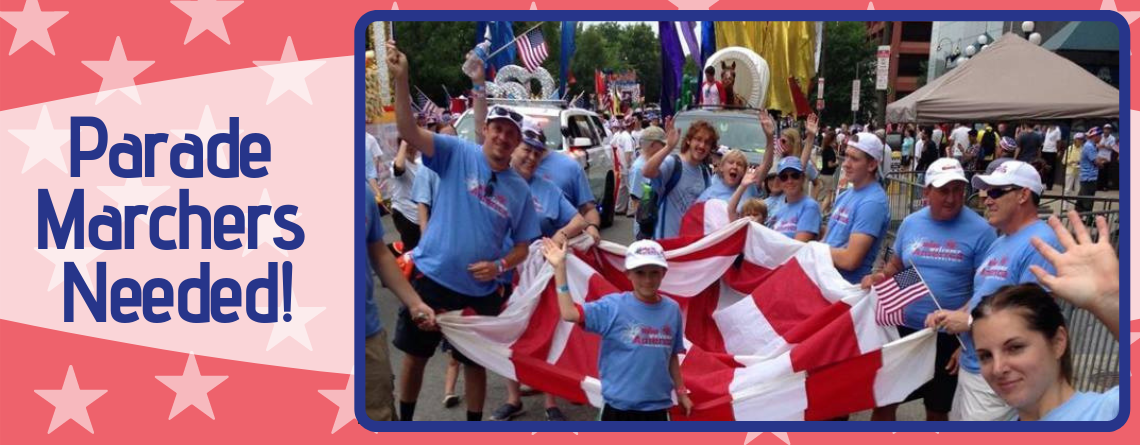 4th of July Parade Marchers Needed