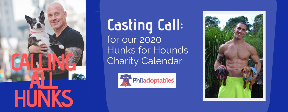 Hunks for Hounds 2020 Casting Call